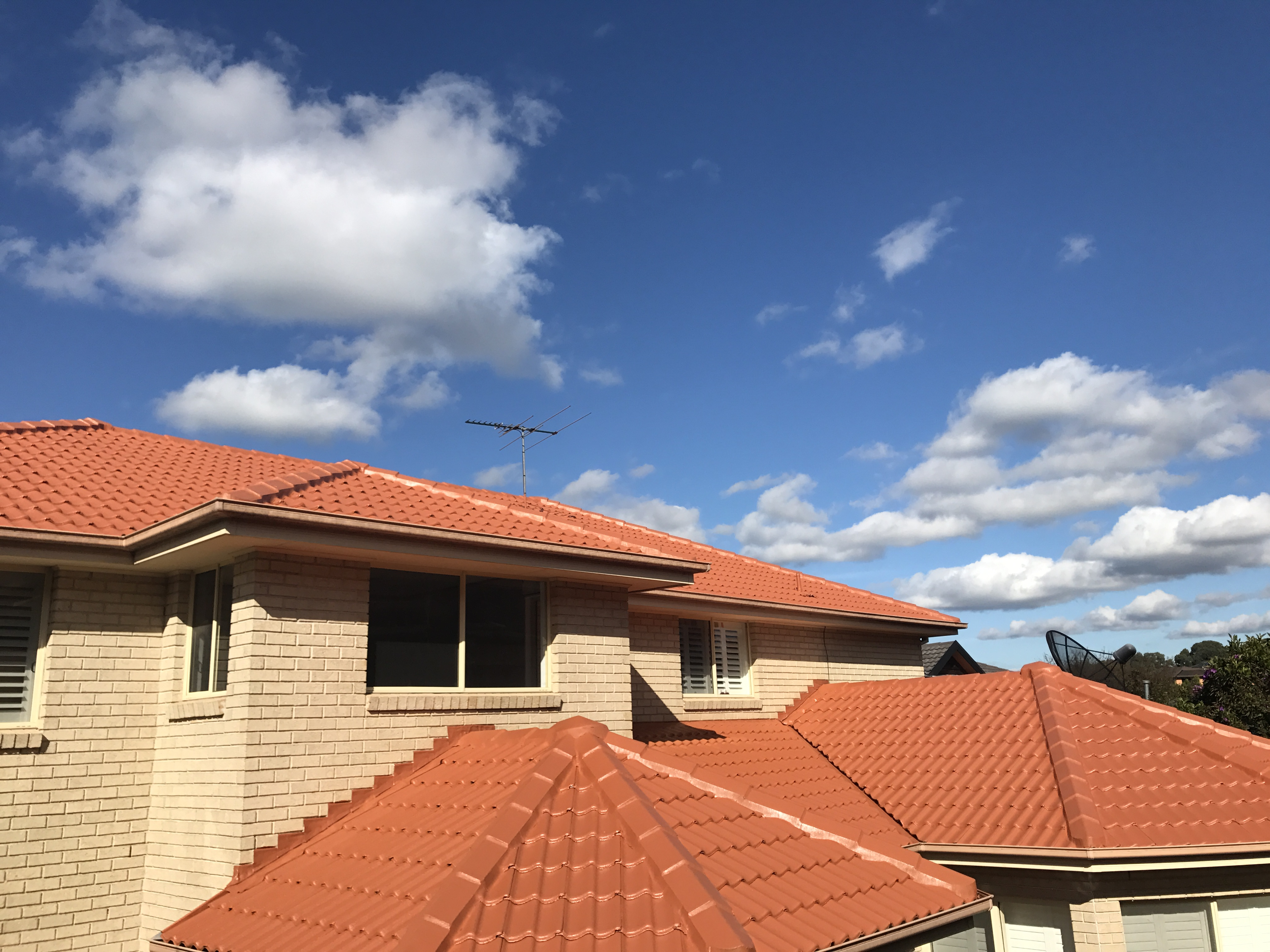 Cement Roof Restoration